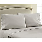 330-Thread-Count Cotton Sateen Full XL Sheet Set in Silver