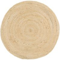 Surya Voru 3-Foot Round Accent Rug in Cream
