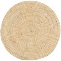 Surya Voru 5-Foot Round Area Rug in Cream