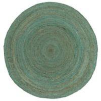 Surya Voru 5-Foot Round Area Rug in Mint