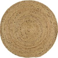 Surya Voru 8-Foot Round Area Rug in Dark Green