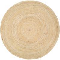 Surya Voru 8-Foot Round Area Rug in Cream