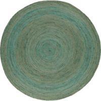 Surya Voru 8-Foot Round Area Rug in Mint