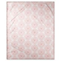 Designs Direct Moroccan Circle Throw Blanket in Coral