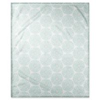 Designs Direct Moroccan Circle Throw Blanket in Teal