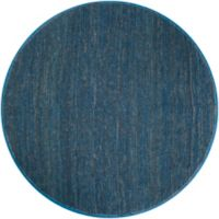 Surya Icaruu 8-Foot Round Rug in Navy