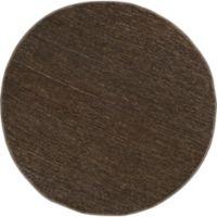 Surya Icaruu 8-Foot Round Rug in Dark Brown