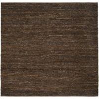 Surya Icaruu 8-Foot Square Rug in Dark Brown