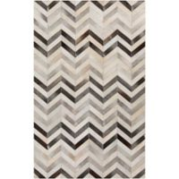Surya Luiana Hide 2-Foot x 3-Foot Accent Rug in Ivory