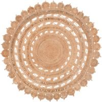 Surya Dazed 8-Foot Round Area Rug in Camel