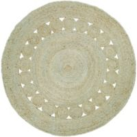 Surya Dazed 8-Foot Round Area Rug in Mint
