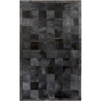 Surya Wichita 8-Foot x 10-Foot Hide Area Rug in Black