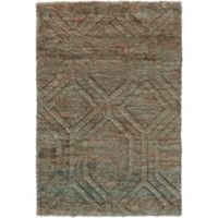 Surya Carmelo 2-Foot x 3-Foot Accent Rug in Emerald
