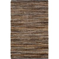 Jeremias 2-Foot x 3-Foot Accent Rug in Dark Brown