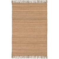 Surya Chiclayo 4-Foot x 5-Foot 9-Inch Accent Rug in Wheat