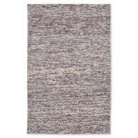 Kaleen Cord Pixel 3-Foot 6-Inch x 5-Foot 6-Inch Area Rug in Purple