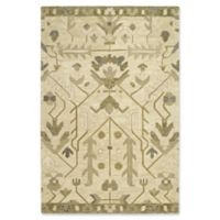 Kaleen Brooklyn Agra 2-Foot x 3-Foot Accent Rug in Olive