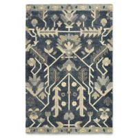 Kaleen Brooklyn Agra 8-Foot x 11-Foot Area Rug in Denim