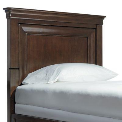 Smartstuff Clics 4 0 Panel Bed Twin Headboard In Cherry