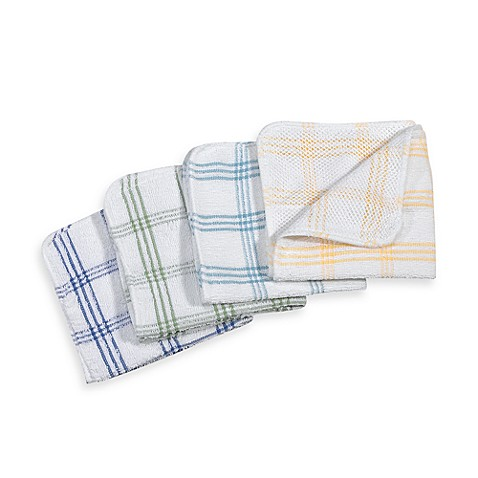 Dish Cloths with Scour (Set of 4)