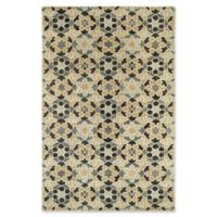 Kaleen Rosaic Marakesh 2-Foot x 3-Foot Accent Rug in Charcoal