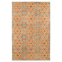Kaleen Rosaic Marakesh 3-Foot 6-Inch x 5-Foot 6-Inch Area Rug in Orange
