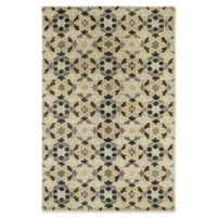 Kaleen Rosaic Marakesh 8-Foot x 11-Foot Area Rug in Charcoal