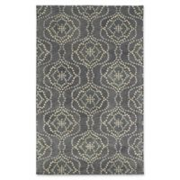 Kaleen Rosaic Wallpaper 5-Foot x 7-Foot 9-Inch Runner in Slate