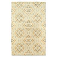 Kaleen Rosaic Wallpaper 5-Foot x 7-Foot 9-Inch Runner in Beige