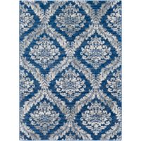 Surya Brixton 2-Foot x 3-Foot Accent Rug in Blue