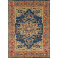 Statements By Surya Fairholt 2-Foot x 3-Foot Accent Rug in Navy