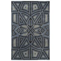 Kaleen Rosaic Patio 2-Foot x 3-Foot Accent Rug in Periwinkle