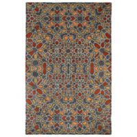Kaleen Rosaic Hebron 2-Foot x 3-Foot Accent Rug in Charcoal