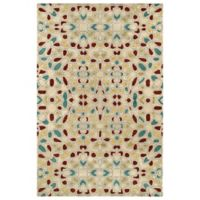 Kaleen Rosaic Hebron 2-Foot x 3-Foot Accent Rug in Beige