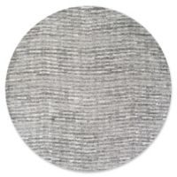 nuLOOM Smoky Sherill 7-Foot 6-Inch Round Area Rug in Grey