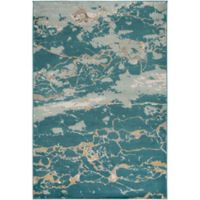 Style Statements by Surya Jensen 7-Foot 10-Inch x 10-Foot 10-Inch Area Rug in Aqua