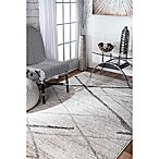 nuLOOM Smoky Thigpen 5-Foot x 8-Foot Area Rug in Grey