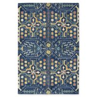 Kaleen Brooklyn Artisan 9-Foot 6-Inch x 13-Foot Area Rug in Navy