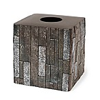 Harrison Boutique Tissue Box Cover in Grey