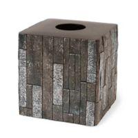 Harrison Boutique Tissue Box Cover in Grey