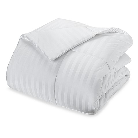 real simple® white down comforter - bed bath & beyond