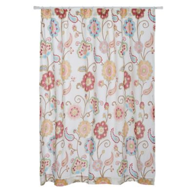 Yellow And Grey Paisley Shower Curtain Curtain