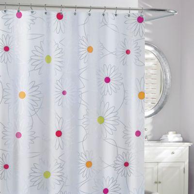 Moda Bliss PEVA Shower Curtain