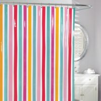 Riva Stripe PEVA Shower Curtain