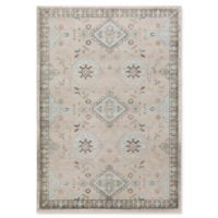 Surya Allegro Hint of Blue 2-Foot 2-Inch x 3-Foot Accent Rug in Khaki