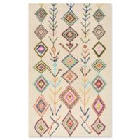 nuLOOM San Miguel Belini 2-Foot x 3-Foot Accent Rug in Ivory