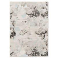 Surya Allegro Wispy Floral 5-Foot 2-Inch x 7-Foot 6-Inch Area Rug in White