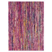 Surya Fenalun Stripe 3-Foot 11-Inch x 5-Foot 7-Inch Area Rug in Pink