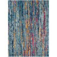 Surya Fenalun Stripe 9-Foot 3-Inch x 12-Foot 6-Inch Area Rug in Teal
