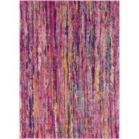 Surya Fenalun Stripe 9-Foot 3-Inch x 12-Foot 6-Inch Area Rug in Pink